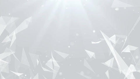 Abstract Clean Particles Background. Loop animation Animation