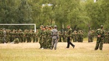 Military Training of Chinese Students 13 Footage