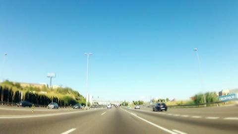 Car trip 07 Stock Video Footage