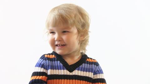 happy boy Stock Video Footage
