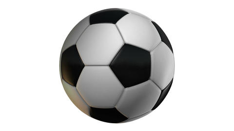 Soccer Ball Stock Video Footage