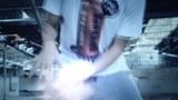 Urban Hip-hop Teenager dubstep dancer dancing brea Footage