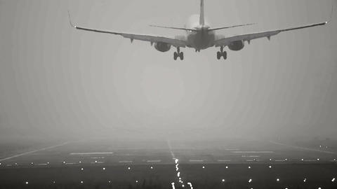 Landing Stock Video Footage