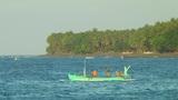 Indonesian fishing boat Footage