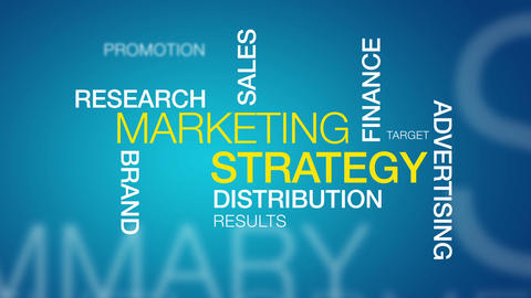 Marketing Strategy Stock Video Footage