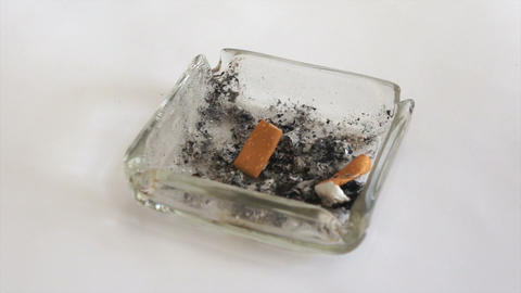 Cigarette Butt Stock Video Footage