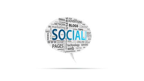 Social Media Stock Video Footage