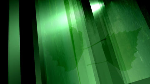 Green crystal Stock Video Footage