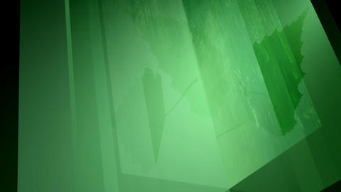 Green crystal Animation
