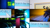Montage Search the Web Animation