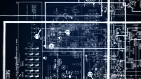 radio circuitry 3 Stock Video Footage