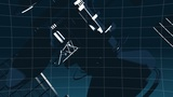 Telecommunication satellite Animation