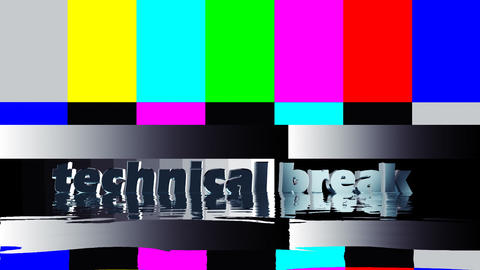Test patterns Stock Video Footage