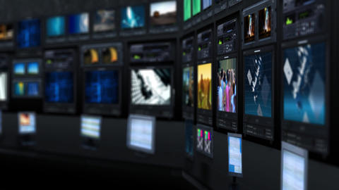 Virtual studio Stock Video Footage