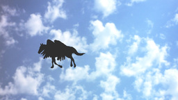 FLIGHT OF PEGASUS (2) Stock Video Footage
