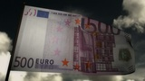 500 Euros bill flag 02 Animation