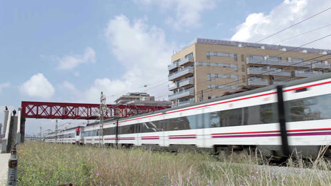 0038 TRSPRT TRAIN BCN Footage