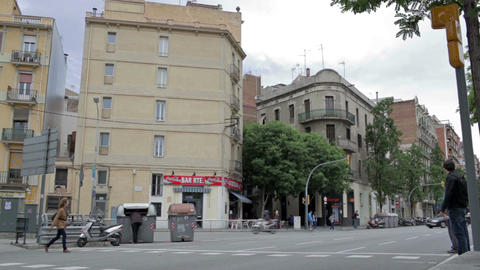 0049 CITY BCN Stock Video Footage
