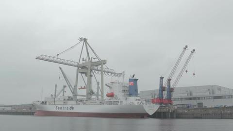 00189 Ship HAM Stock Video Footage