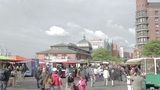 00210 EDIT Fishmarkt HAM Footage