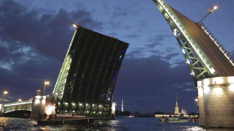 00223 Bridge SPB Stock Video Footage