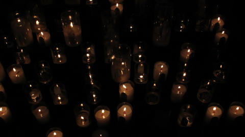 Candles 06 Stock Video Footage