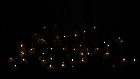 Candles 02 Stock Video Footage