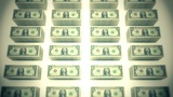 Dollar bills piles 02 Animation