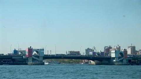 Bosphorus bridge Stock Video Footage