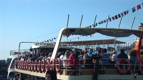 Bosphorus ship c Footage