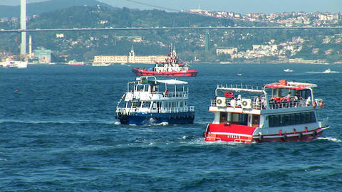 Bosphorus trafic b Footage