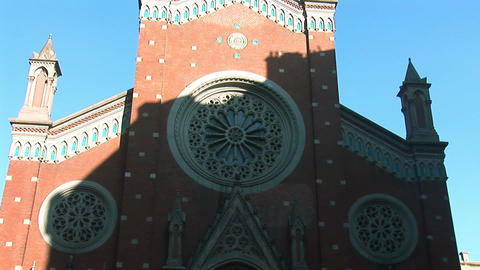 Church St Anthony b Stock Video Footage