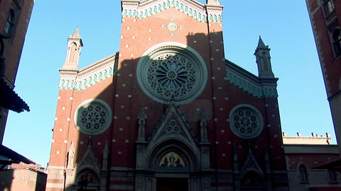 Church St Anthony d Stock Video Footage