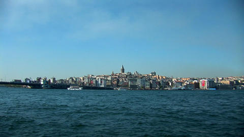 Istanbul Bosphorus Stock Video Footage