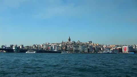 Istanbul Bosphorus Stock Video Footage