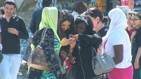 Istanbul tourists Stock Video Footage
