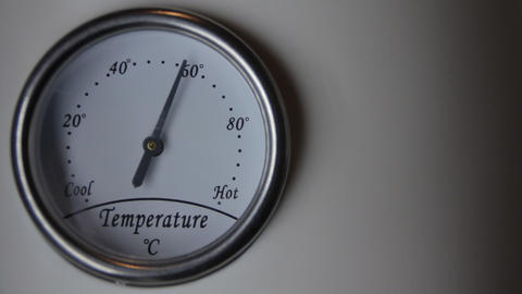 thermometer time lapse Stock Video Footage