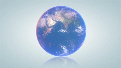 Earth turn around 04 Stock Video Footage