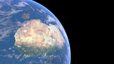 Earth turn around 02 Animation