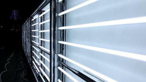 Display lights turn on Stock Video Footage