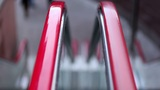 Escalators' handrail Footage