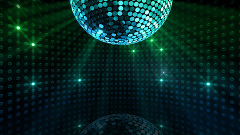 Mirror Ball 2 x 1 LB 04 HD Stock Video Footage