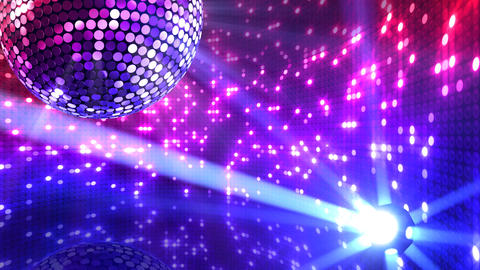 Mirror Ball 2 x 1 LB 08 HD Stock Video Footage