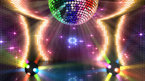Mirror Ball 2 x 1 LB 10 HD Animation