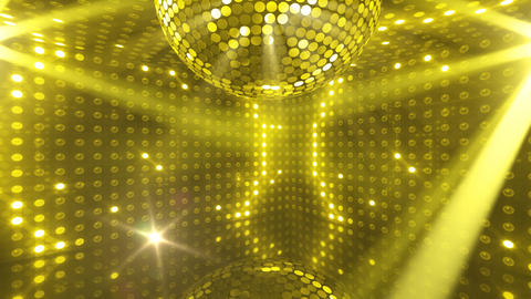 Mirror Ball 2 x 1 LB 12 HD Stock Video Footage