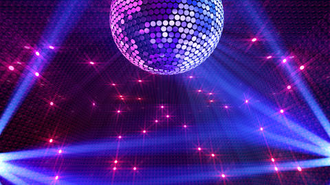 Mirror Ball 2 x 1 LB 14 HD Stock Video Footage