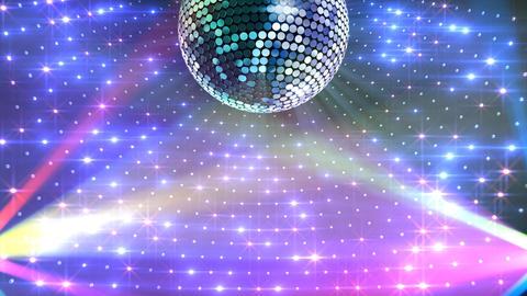 Mirror Ball 2 x 1 LD 01 HD Stock Video Footage