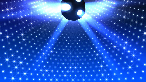 Mirror Ball 2 x 1 LD 03 HD Stock Video Footage