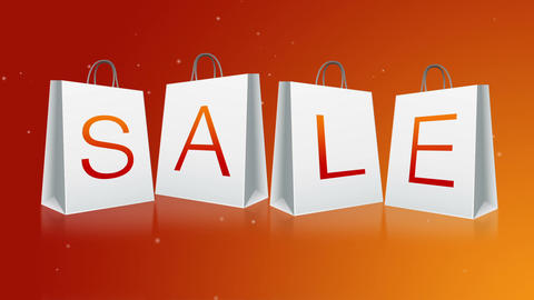 Holiday Sale Stock Video Footage