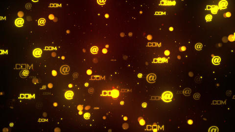 Computer Symbols 3 Loopable Background Animation